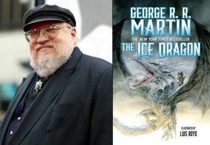 Warner Bros. снимет полнометражный мультфильм The Ice Dragon / «Ледяной дракон» по одноименной детской книге Джорджа Мартина
