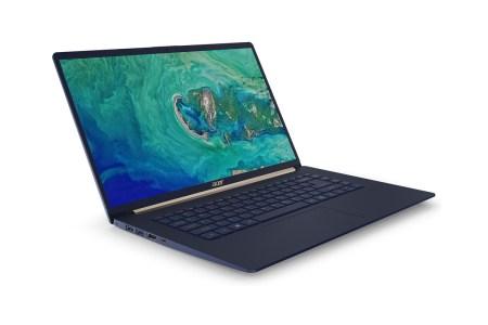 Acer анонсировала ноутбук Swift 5 с 15,6-дюймовым дисплеем, уменьшенными рамками и массой менее 1 кг