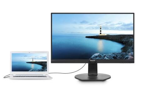Представлены мониторы Philips 272B7QUPBEB (IPS) и Philips 349P7FUBEB (MVA) со встроенными док-станциями USB-C