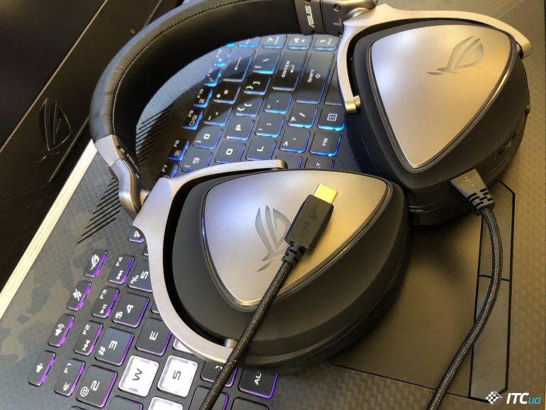 ASUS представила универсальную гарнитуру ROG DELTA c ЦАП ESS 9218 и подключением по USB Type-C