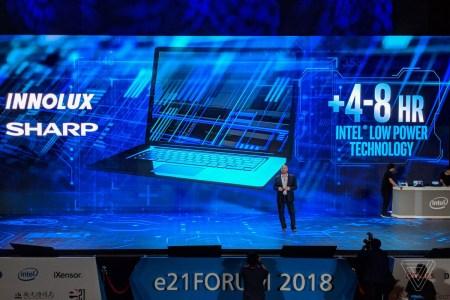 Intel продемонстрировала технологию Low Power Display Technology, которая поможет вдвое снизить энергопотребление экранов ноутбуков