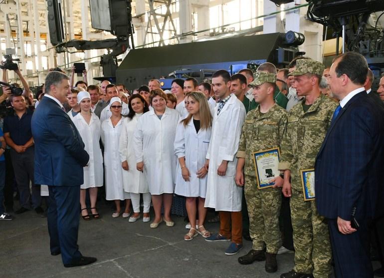 """""""Укроборонпром"""" представил новейшие модели систем радиолокации и радиоэлектронной борьбы"""