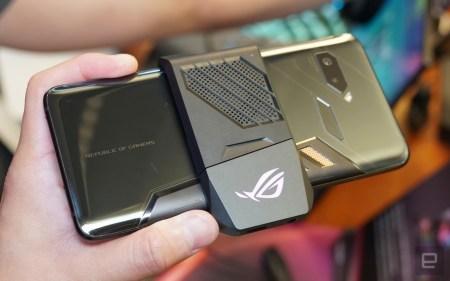 ASUS ROG Phone представлен официально: 6-дюймовый AMOLED (90 Гц), разогнанный Snapdragon 845, три порта USB-C, ультразвуковые триггеры и четыре док-станции