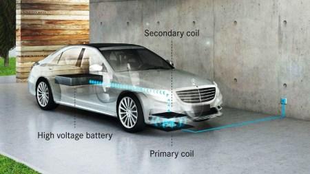 Беспроводная зарядка для электрокара: настоящее и будущее, плюсы и минусы