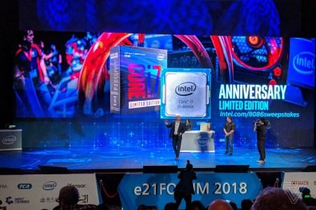 К 40-летию первого чипа 8086 компания Intel анонсировала юбилейный процессор Core i7-8086K с частотной формулой 4/5 ГГц