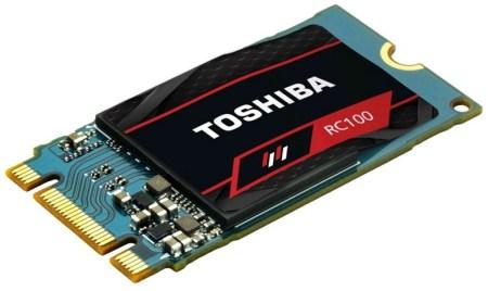 Бюджетные SSD Toshiba RC100 типоразмера M.2 с поддержкой NVMe стоят от €50 до €130