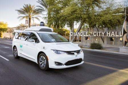 Waymo заказала 62 тысячи минивэнов Chrysler Pacifica для своей службы беспилотных такси, первые экземпляры поставят уже в конце 2018 года