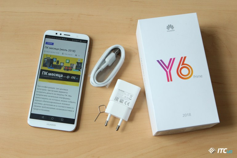 Обзор смартфонов Huawei Y5 2018 и Y6 Prime 2018