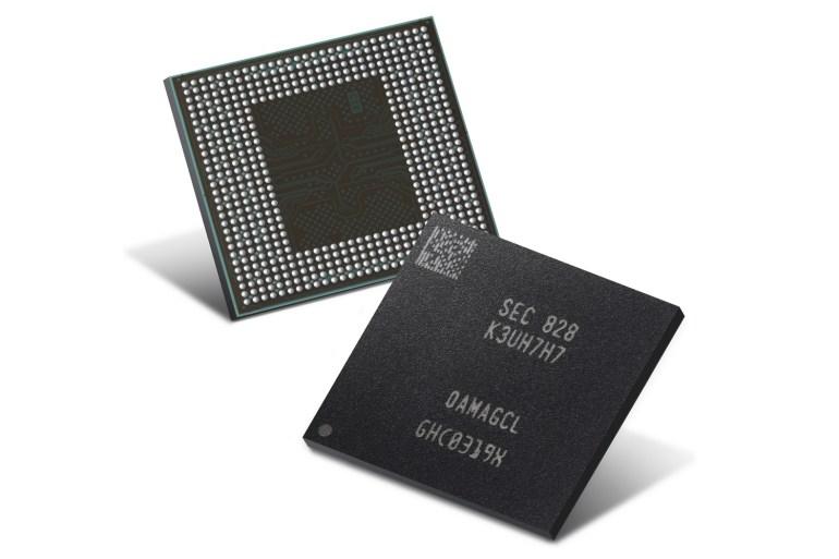 Samsung начал массовое производство второго поколения 10 нм ОЗУ для смартфонов LPDDR4X с меньшим энергопотреблением и габаритами