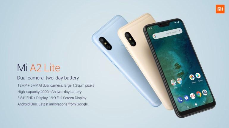 Смартфоны Xiaomi A2 и Mi A2 Lite представлены официально, цены оказались еще ниже предполагаемых