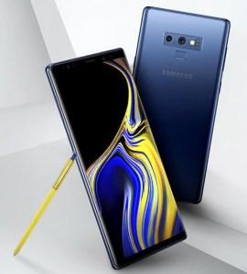 Эван Блэсс опубликовал первое официальное изображение смартфона Samsung Galaxy Note9