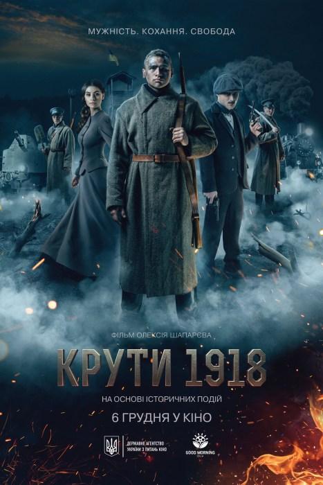 Новий трейлер історичної драми «Крути 1918» з музикою італійського композитора Марко Моріні