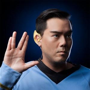 Беспроводные наушники Star Trek Wireless Vulcan Earbuds превращают своего владельца в Спока из «Звездного пути»