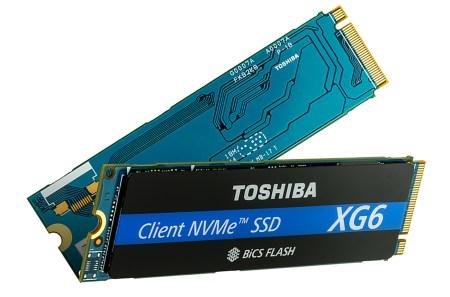 Toshiba анонсировала первые SSD на базе 96-слойных 3D чипов флэш-памяти