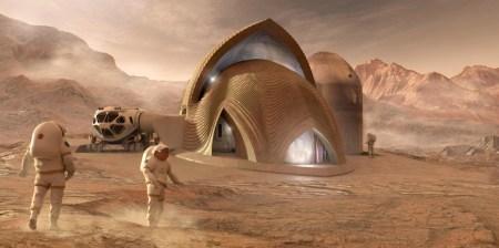 NASA объявило пятерку финалистов с лучшими проектами марсианских жилищ, печатаемых на 3D-принтерах