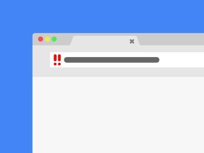 Chrome начал помечать незащищенные HTTP-соединения небезопасными