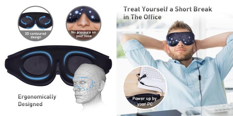 Первая в мире графеновая маска для глаз стоимостью $33 подойдет для домашней физиотерапии