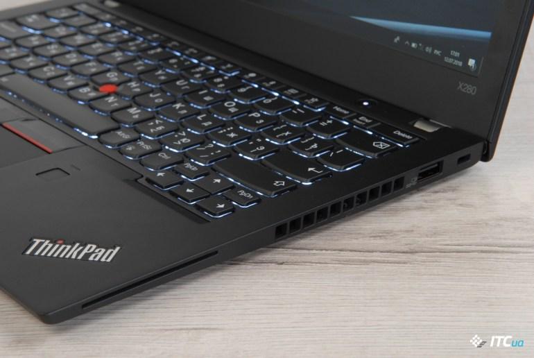 Lenovo ThinkPad X280 охлаждение