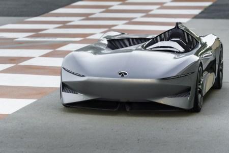 На «Конкурсе элегантности» в Пеббл Бич представили прототип футуристичного электрического спидстера Infiniti Prototype 10