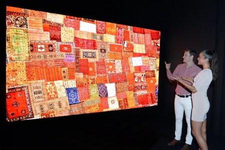 LG показала на IFA 2018 огромные 8K OLED и MicroLED телевизоры
