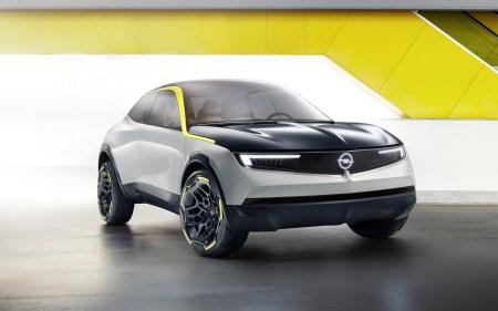Немцы представили концепт электрического кроссовера Opel GT X Experimental в новом фирменном дизайне