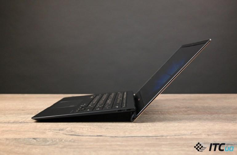 угол раскрытия ZenBook S (UX391)