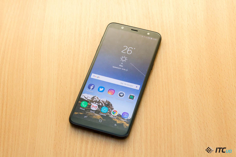 Обзор смартфона Samsung Galaxy J8 (<b>2018</b>) - ITC.ua