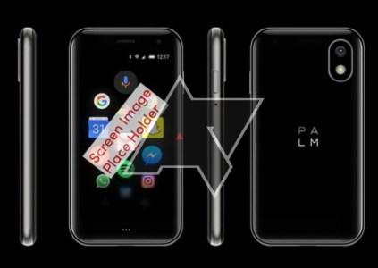 В сети засветился смартфон Palm с 3,3-дюймовым дисплеем и очень скромными параметрами