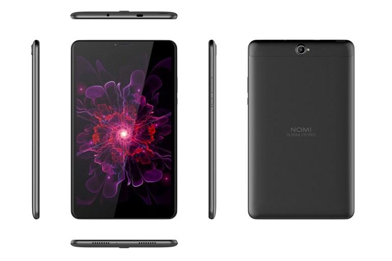 В Украине стартовали продажи нового поколения планшетов NOMI, в числе которых самая доступная модель с LTE и Android 8.1