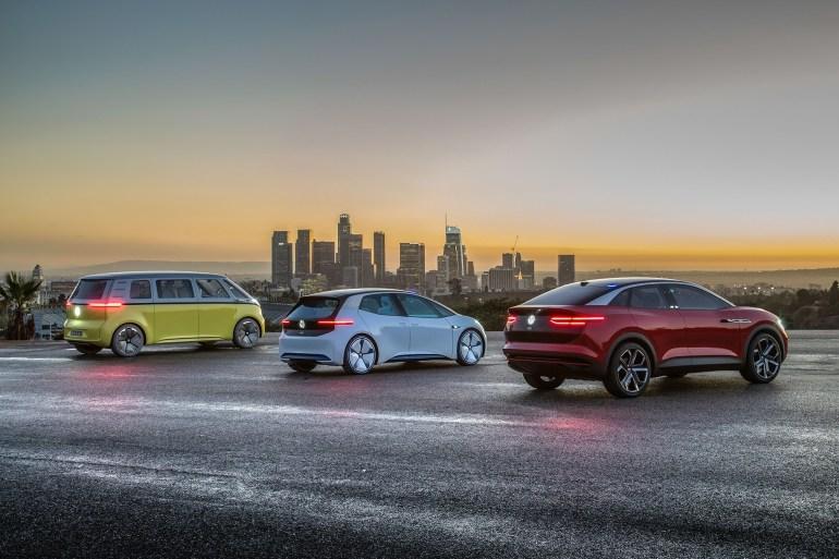 """Серийные электромобили VW I.D. и I.D. CROZZ получат """"горячие"""" версии от спортивного подразделения Volkswagen R"""
