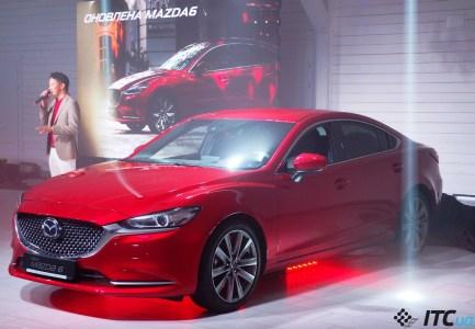 Новая Mazda6: другой «нос», классный салон, активный «круиз». Что еще?