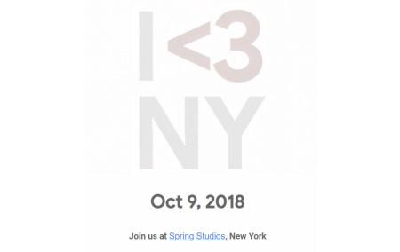 Презентация новых смартфонов Pixel 3 и других новинок Google пройдет в Нью-Йорке 9 октября