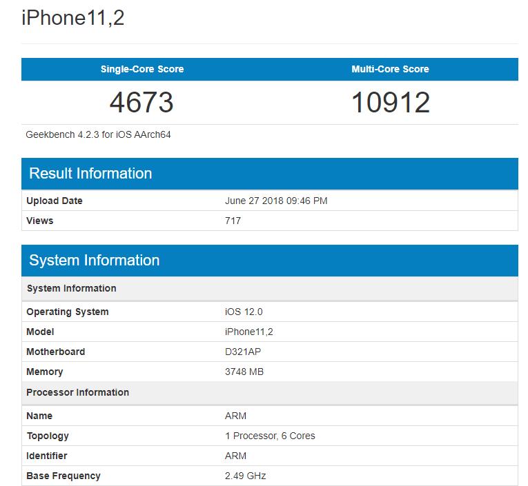 Qualcomm Snapdragon 855 заметили в базе Geekbench с результатами хуже, чем у Apple A12