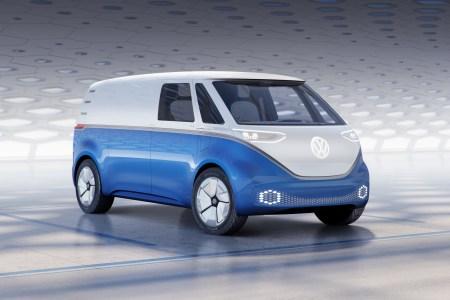 Volkswagen I.D. BUZZ CARGO — грузовая версия электрического минивэна I.D. BUZZ с мощностью 150 кВт, батареей на 48-111 кВтч и запасом хода 330-550 км (WLTP)