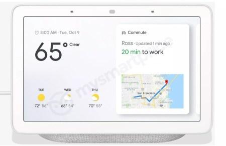 Вот так выглядит смарт-дисплей Google Home Hub, который будет стоить $149