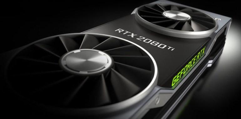 После публикации результатов тестирования видеокарт GeForce RTX 2080 стоимость акций NVIDIA снизилась на 2,1%
