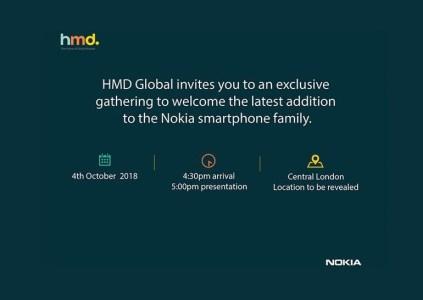 4 октября в Лондоне HMD Global покажет новый смартфон Nokia