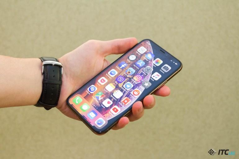 дизайн iPhone Xs и iPhone Xs Max