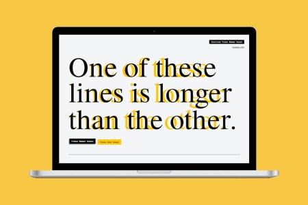 Дизайнеры создали более «широкий» вариант шрифта Times New Roman, чтобы облегчить жизнь студентам и школьникам
