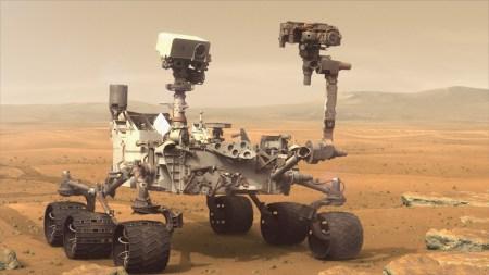 Ровер Curiosity приостановил работу из-за проблем с передачей данных