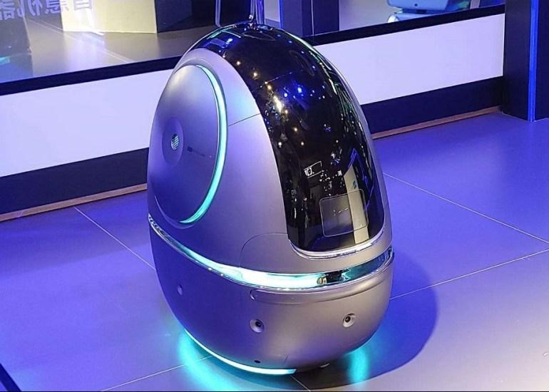 Space Egg - робот-швейцар от Alibaba