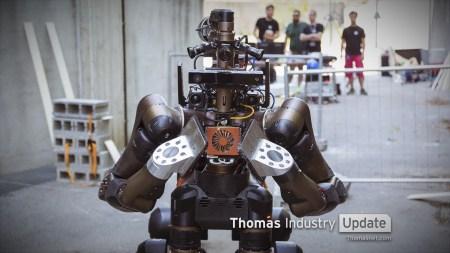Итальянские ученые представили робота Centauro, оснащенного системой телеуправления