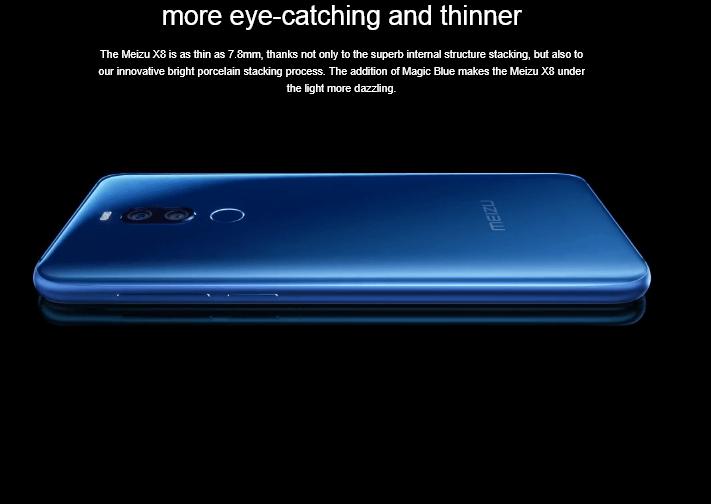 Meizu X8 — первый смартфон компании с «монобровью»