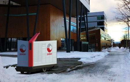 В норвежском Конгсберге доставку почты поручат роботам