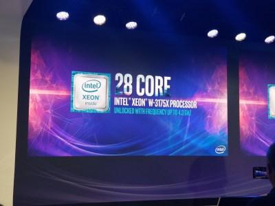Ориентированный на энтузиастов 28-ядерный CPU Intel Xeon W-3175X припоя под крышкой не получил