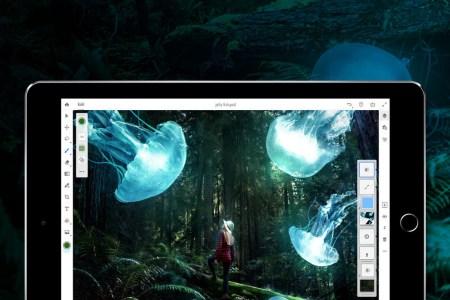 Adobe представила полноценную версию Photoshop CC для планшетов iPad, релиз состоится только в 2019 году