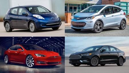 В США продали первый миллион электромобилей и подключаемых гибридов, 70% продаж обеспечили Tesla, GM, Nissan и Ford