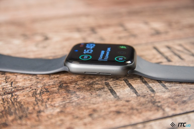 звук Apple Watch Series 4