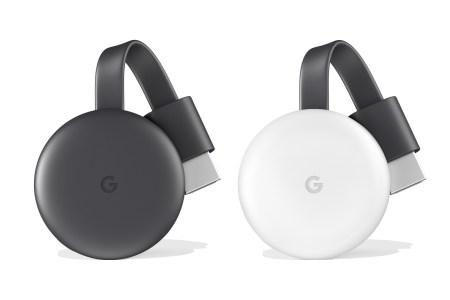 Google представила медиаплеер Chromecast 3.0 со слегка обновленным дизайном и характеристиками (без 4K) и тем же ценником $35
