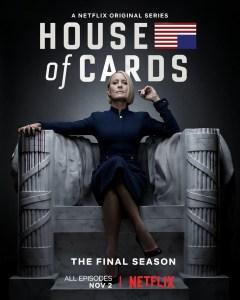 Последний трейлер финального сезона сериала House Of Cards / «Карточный домик»